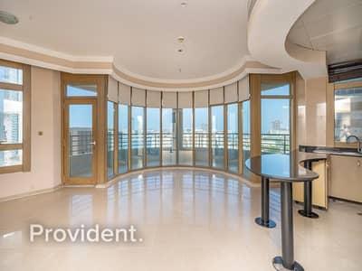 2 Bedroom Apartment for Rent in Dubai Marina, Dubai - Full Sea View | Upgraded | Free Chiller