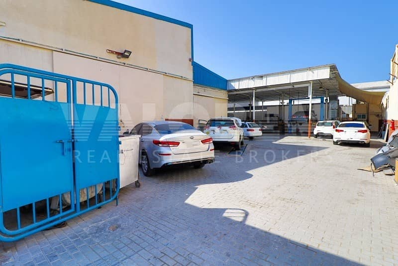 FOR SALE  RUNNING GARAGE + 2 WAREHOUSES IN ALQUOZ FOR 4M
