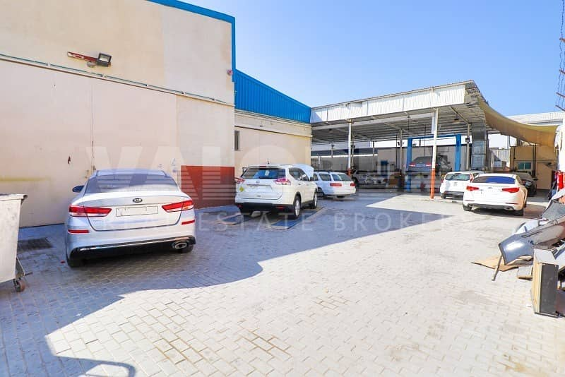 2 FOR SALE  RUNNING GARAGE + 2 WAREHOUSES IN ALQUOZ FOR 4M