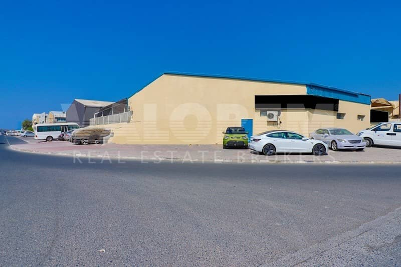 40 FOR SALE  RUNNING GARAGE + 2 WAREHOUSES IN ALQUOZ FOR 4M