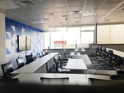 طابق تجاري  للايجار في واحة دبي للسيليكون، دبي - Fitted & Furnished Office Floor for  Rent =D01