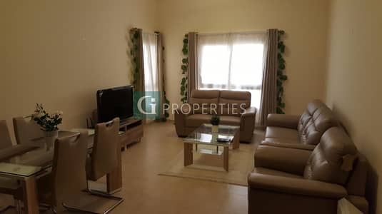 1 Bedroom Apartment for Rent in Remraam, Dubai - Exclusive | Well Maintained | furnished with high living luxury equipment