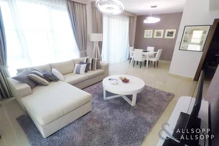 3 Bedroom Flat for Rent in Downtown Dubai, Dubai - Fully Furnished | 3 Beds | 1391 Sq. Ft.