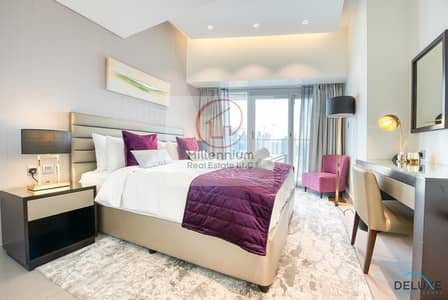 2 Bedroom Hotel Apartment for Rent in Business Bay, Dubai - Furnished 2BR Apartment in Damac Majestine