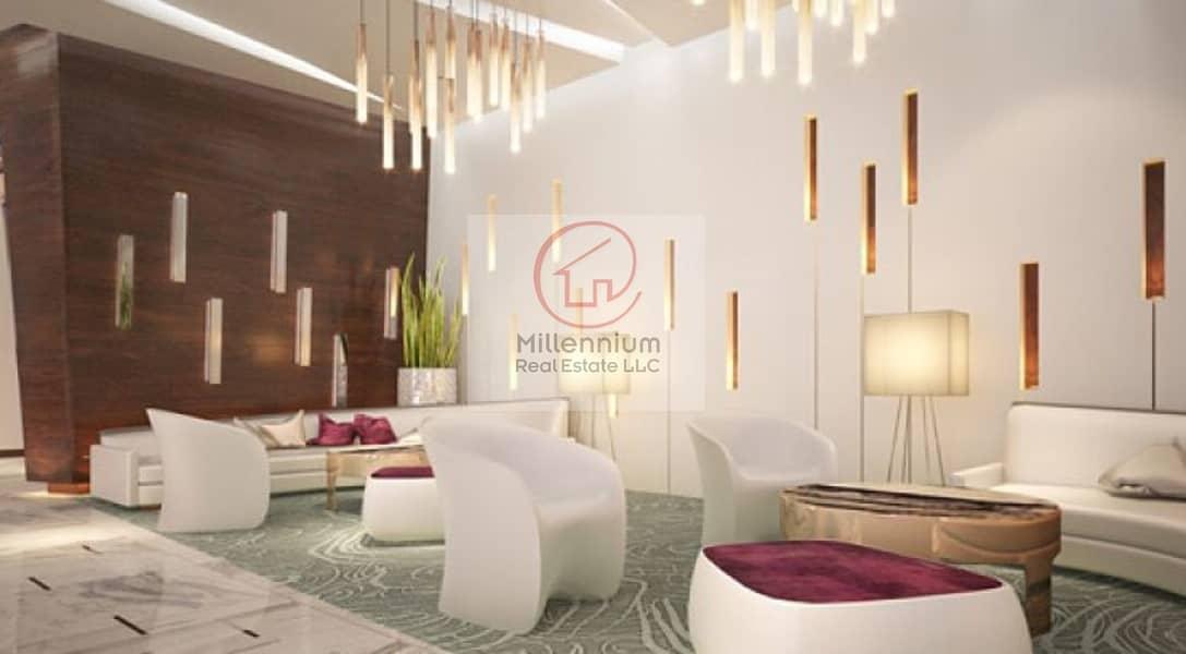2 Furnished 2BR Apartment in Damac Majestine
