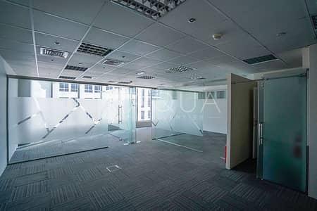 مکتب  للايجار في الخليج التجاري، دبي - Fitted Office   Pantry   Glass Partitioned