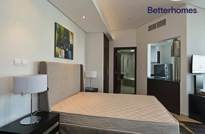 2 Furnished apartment with balcony in The Matrix