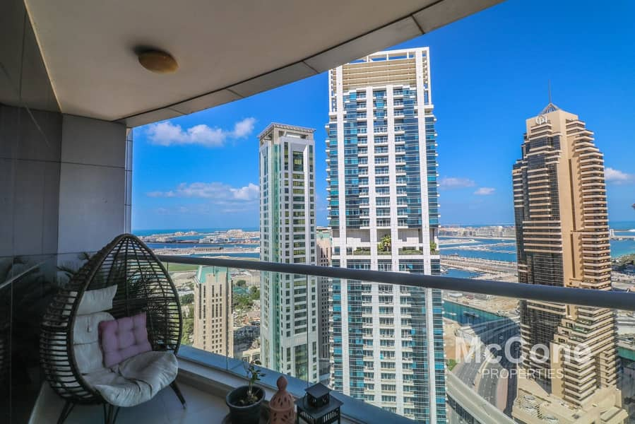 1 Marina & Sea View | Spacious | View Today