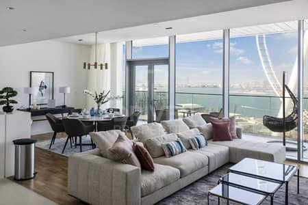فلیٹ 2 غرفة نوم للبيع في جزيرة بلوواترز، دبي - Fully Furnished Apt w/ Amazing Sea Views