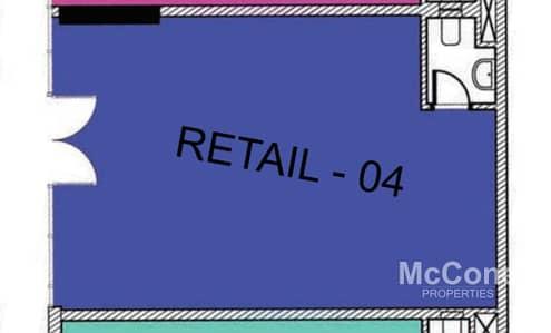 Shop for Sale in Jumeirah Village Circle (JVC), Dubai - Prime Shop | Exclusive | Payment Plan Option
