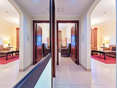 1 Bedroom Apartment for Rent in Barsha Heights (Tecom), Dubai - Few Steps From Metro | Free chiller | Furnished | Balcony | Parking