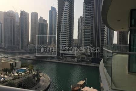 فلیٹ 2 غرفة نوم للبيع في دبي مارينا، دبي - Huge 2BR+M| Mid Floor |Big Balcony Marina view