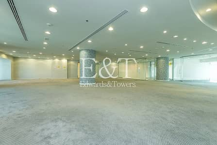 Office for Rent in Sheikh Zayed Road, Dubai - Spacious Fitted Full Floor Ascott Park Place