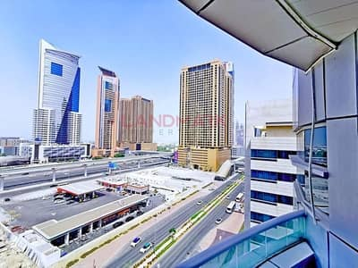 Next To Metro | TECOM | 2BR | No chiller | Fully Furnished | Balcony | Pool | Gym