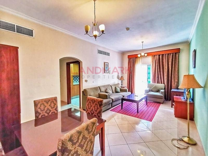 2 Next To Metro   TECOM   2BR   No chiller   Fully Furnished   Balcony   Pool   Gym