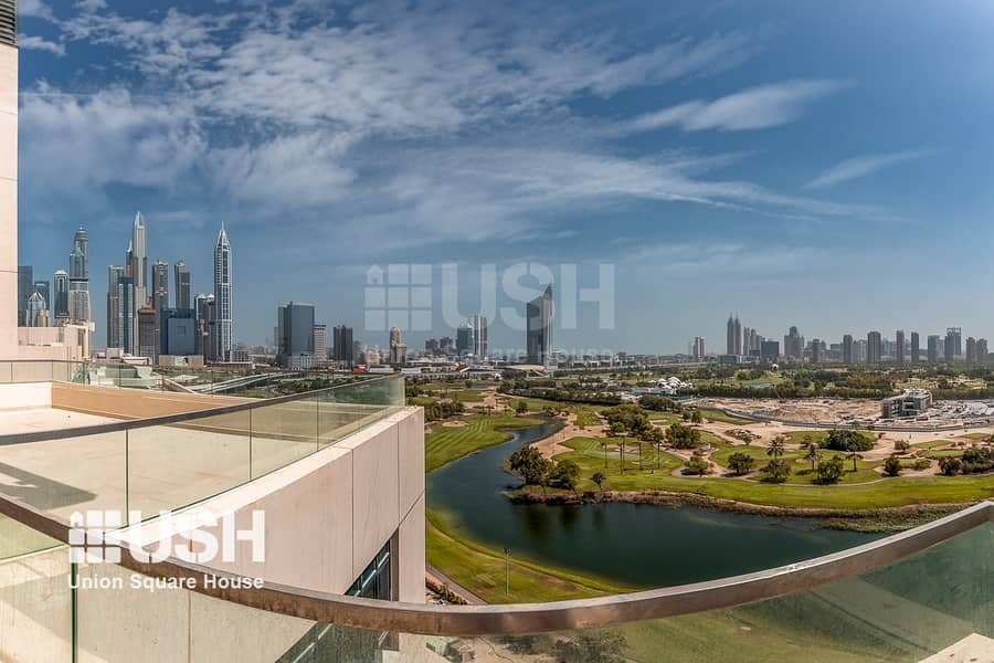 2 5Br Penthouse with 270 Degree Golf Course View