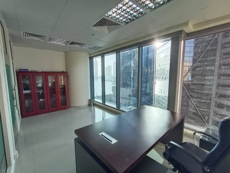 22 Exclusive | Fully Fitted Office with partition | Multiple Parkings