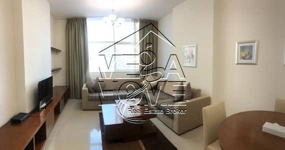 شقة في شارع حمدان 2 غرف 120000 درهم - 4985072