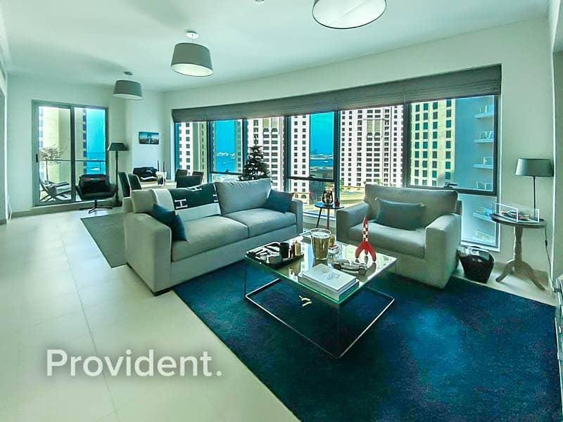 Elegantly Furnished | Marina Views | Vacant Soon