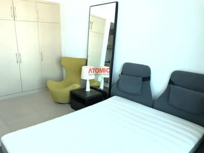Studio for Rent in Al Sufouh, Dubai - Furnished studio in sufouh with balcony