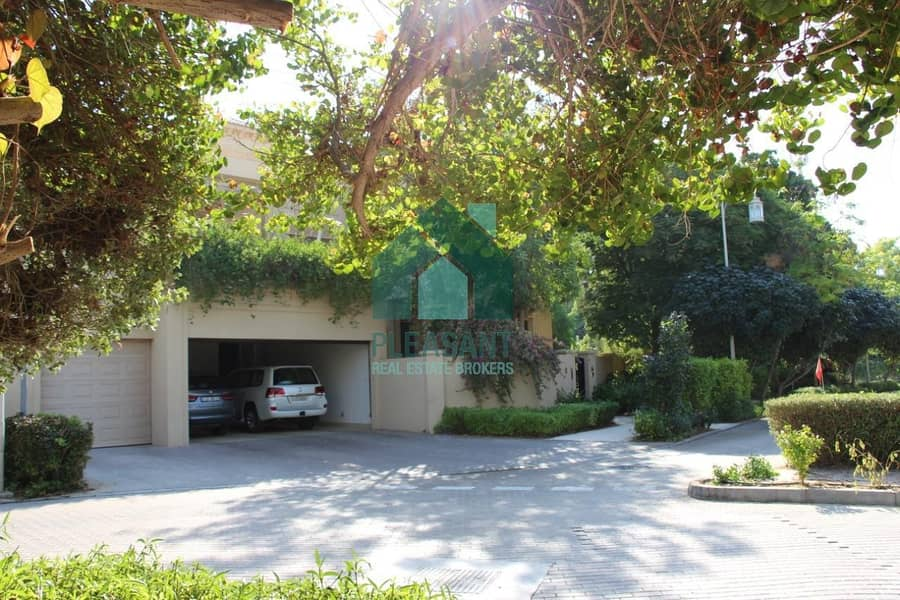 Big Plot | Fully Furnished | 7 Bed Villa | Type B2 | Rent | Al Barari
