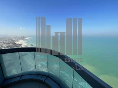 فلیٹ 2 غرفة نوم للايجار في كورنيش عجمان، عجمان - Best View in Ajman | 2 Bedroom | Free AC