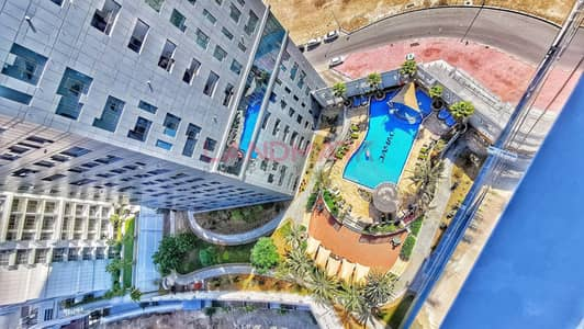1 Bedroom Apartment for Rent in Business Bay, Dubai - Largest 1BR | TOP FLOOR | Burj Khalifa View | Balcony | Furnished