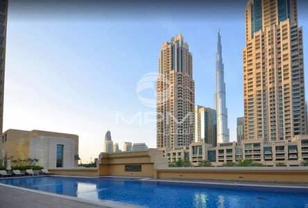 فلیٹ 1 غرفة نوم للايجار في وسط مدينة دبي، دبي - 1 Month Free | Chiller Free | No  Admin Fee