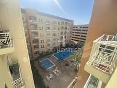 New listing | Vacant|Balcony & Pool View