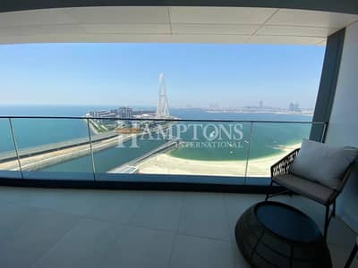 فلیٹ 1 غرفة نوم للبيع في جميرا بيتش ريزيدنس، دبي - Partial Sea View and Marina View |1 Bed