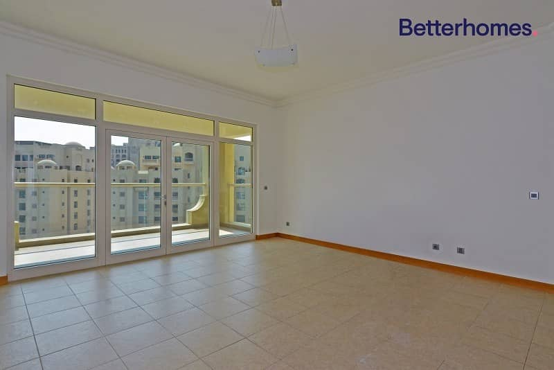 2 Large Balcony | Bright | Park View | Unfurnished