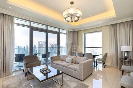 2 Bedroom Flat for Sale in Downtown Dubai, Dubai - Burj Khalifa View | Furnished | Spacious