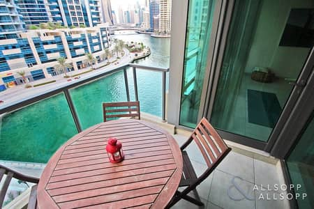 1 Bedroom Flat for Sale in Dubai Marina, Dubai - One Bed Plus Study | Marina View | Vacant