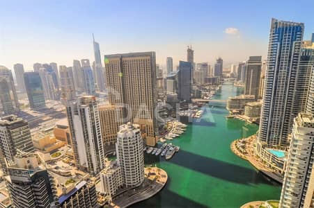 4 Bedroom Penthouse for Rent in Dubai Marina, Dubai - Stunning Marina View Penthouse One Month Free