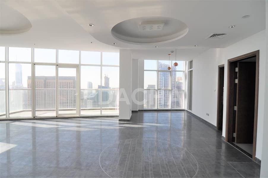 2 Stunning Marina View Penthouse One Month Free