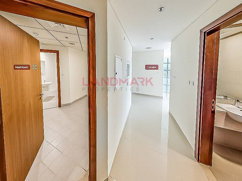 22 Modern Large 2BR | 4 Bathroom | Maid Room | Luxury tower | Full Facilities | Covered Parking