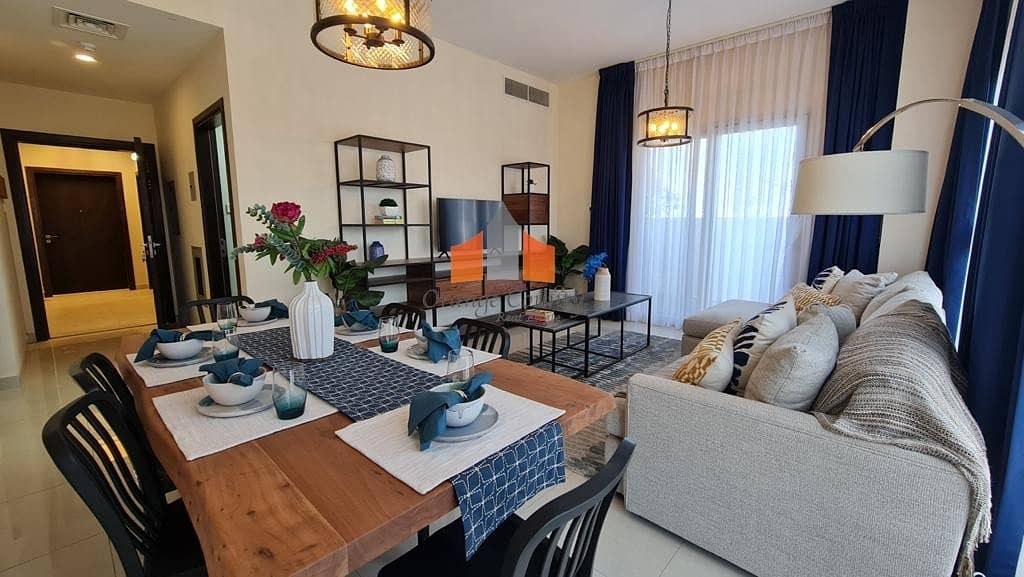 14 2 BR  Fully Furnished| Private garden on ground floor| 2 yrs maintenance free.