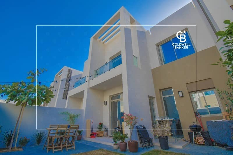 Upgraded townhouse for sale | Reem community | Arabian ranches |Landscaped