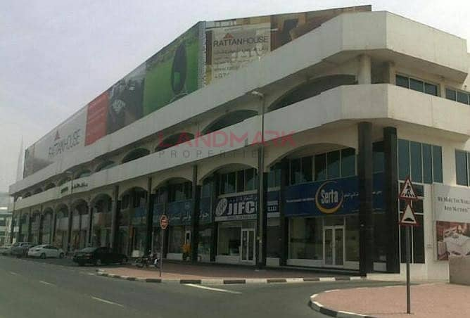 2 SHOWROOM | PRIME LOCATION | FULLY RENTED | SELLING AED 353 PSF