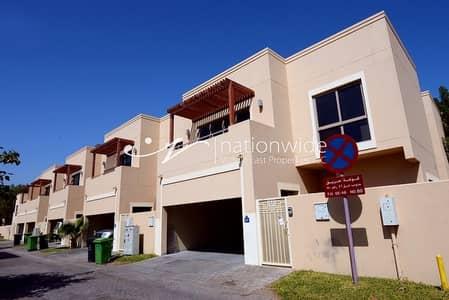 5 Bedroom Villa for Sale in Al Raha Gardens, Abu Dhabi - Elegant and Huge Family Home with Rental Back