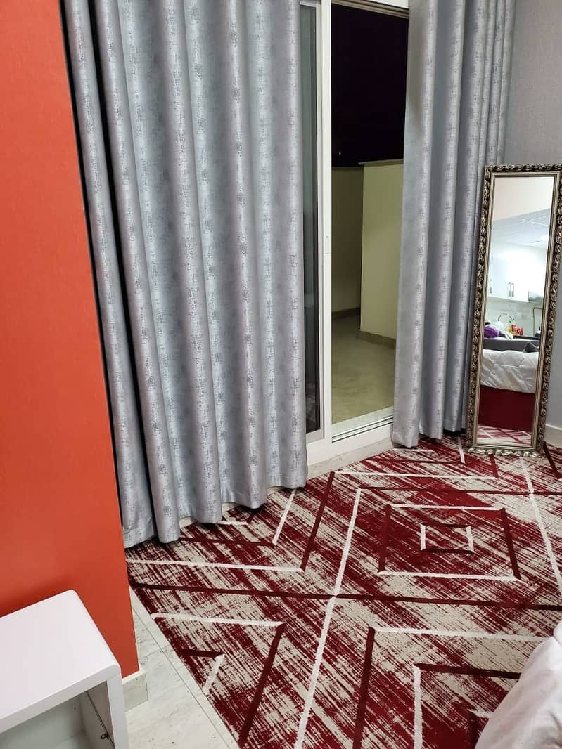 12 brand new furnished large apartment 30000 yearly