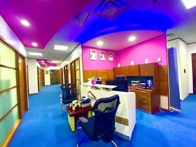 مکتب  للايجار في الخالدية، أبوظبي - Fully Fitted Office/Move-in-Ready