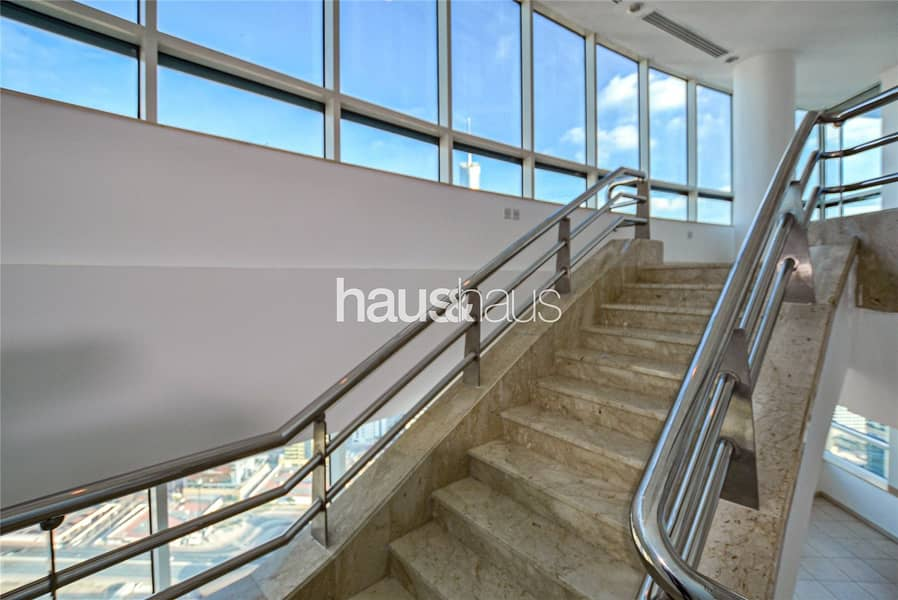 2 Duplex Penthouse | 4 bedroom + Maids | Unfurnished