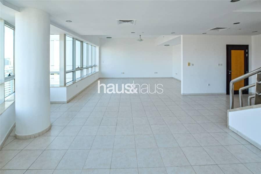 Duplex Penthouse | 4 bedroom + Maids | Unfurnished