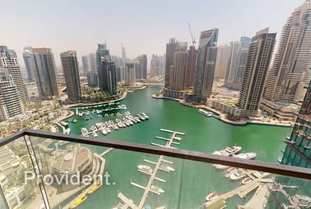 3 Bedroom Apartment for Sale in Dubai Marina, Dubai - Panoramic Marina View|3BR + Maids|Luxury Building