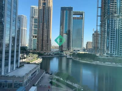 Office for Rent in Jumeirah Lake Towers (JLT), Dubai - Opposite to Metro Station   Lake View   Fully Fitted office for rent in Fortune Tower   just in 45