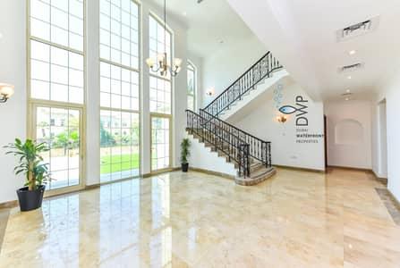 فیلا 4 غرف نوم للايجار في جزر جميرا، دبي - Genuine Listing! 4BR Garden Hall Villa with Private Swimming Pool and Lake View| Newly refurbished | Full 5* Maintenance