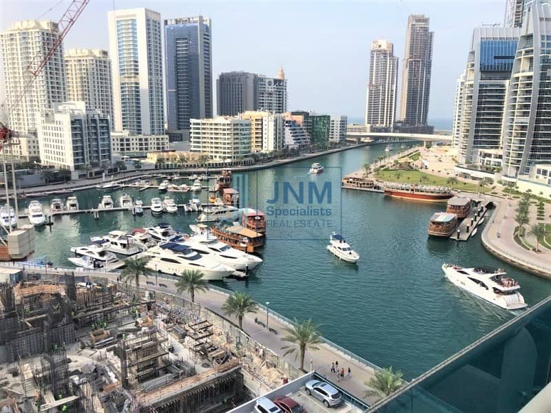 Marina View | Chiller Free | Fully Furnished 1 Bed