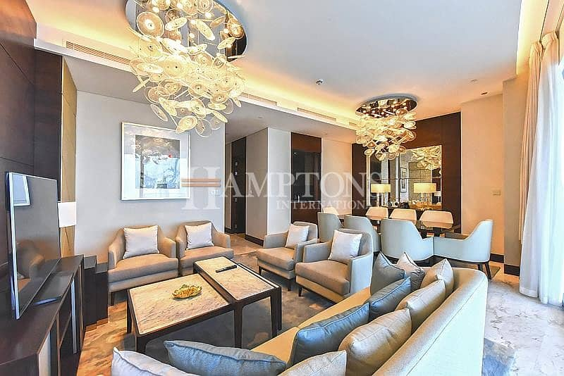 Sky Collection 3 Bed | Burj Khalifa View
