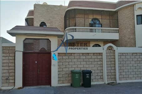 فیلا 3 غرف نوم للايجار في الزعاب، أبوظبي - Newly renovated 3BR villa plus maid room | outside kitchen